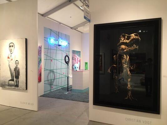 UNIX Gallery at Art Miami 2018, installation view