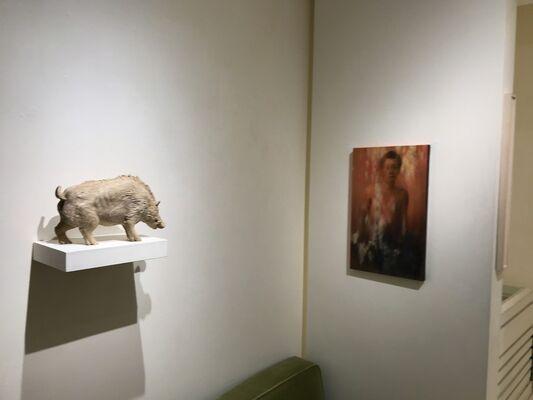 Kosuke Ikeshima  Yugo Kohrogi, installation view
