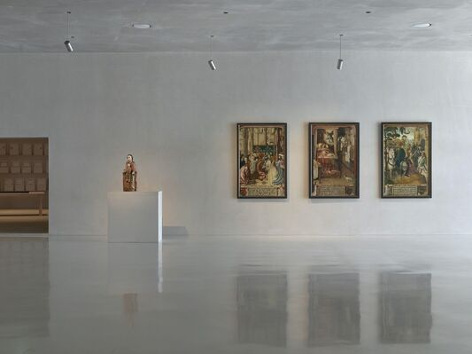 The Red Thread - On Structures in Narration, installation view