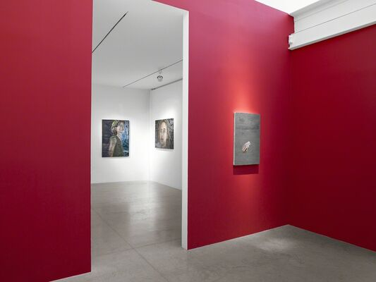 Ena Swansea: New Paintings, installation view