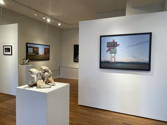 Of Myth and Mystery, installation view