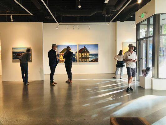"Mark Beck ""American Narratives"", installation view"