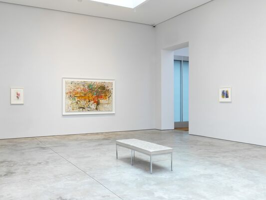 Joan Mitchell: Drawing into Painting, installation view