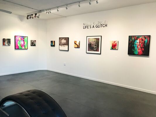 Nigel Clouse: Life's a Glitch, installation view