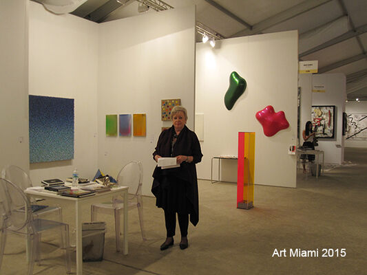 Renate Bender at Art Miami 2016, installation view