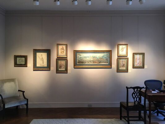 Master Drawings New York, installation view