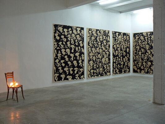 Jaffa Port - Jannis Kounellis, installation view