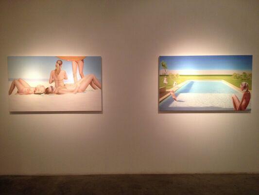 Azure Waters, installation view