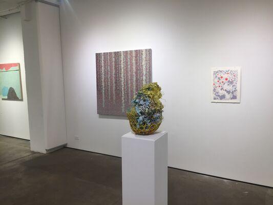 Indra's Net: Chris Arabadjis, Karen Margolis, Paula Overbay, and Rachael Wren, installation view