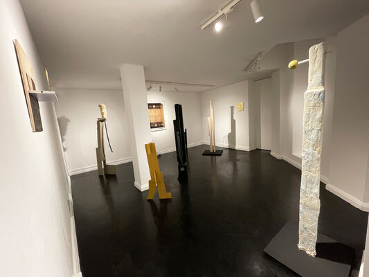 HelenA Pritchard - Enmeshed Worlds, installation view