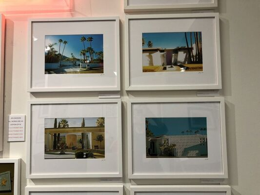 Jen Zahigian at Photo Independent Los Angeles 2018, installation view