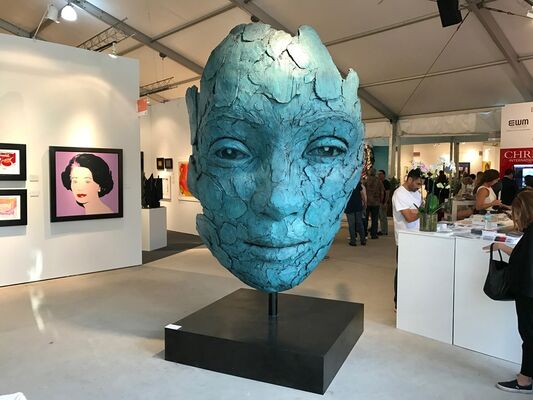 CYNTHIA-REEVES at Art Miami 2016, installation view