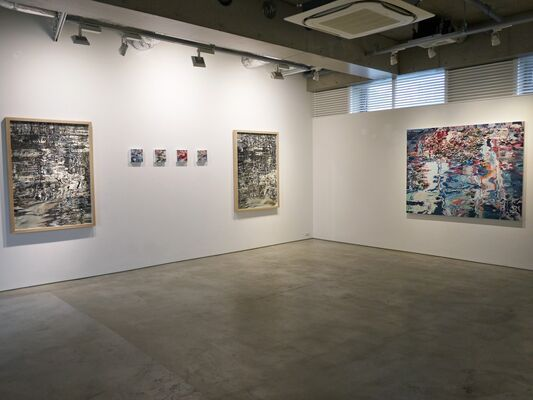Reflection: 2015-16, installation view