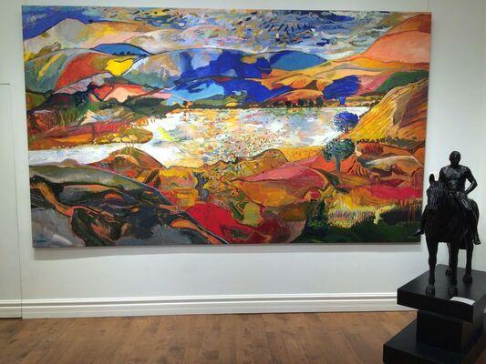 Yehouda Chaki, installation view