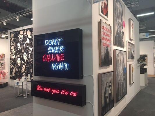 Contessa Gallery at Art New York 2017, installation view