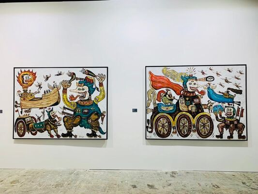 The Columns Gallery at Asia Now 2019, installation view