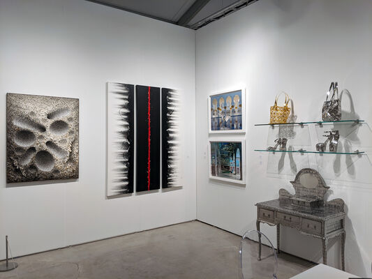Sundaram Tagore Gallery at Art Miami 2019, installation view