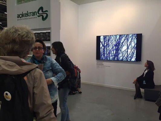 Şekerbank Açık Ekran New Media Arts Gallery at Contemporary Istanbul 2016, installation view