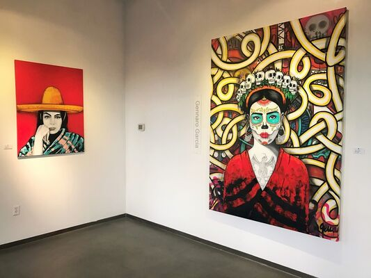 MEXICANA (Homage to the soul of Mexico), installation view