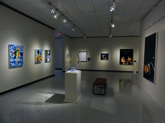 Myths and Lies, installation view