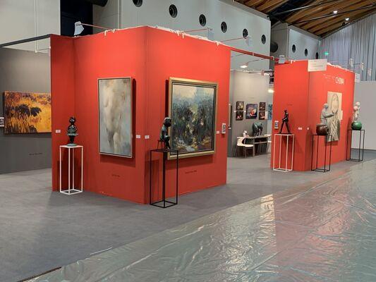 Galerie Kunstbroeders at art KARLSRUHE 2018, installation view