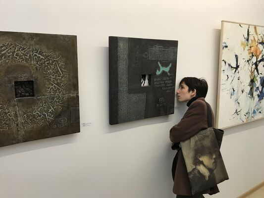 Solo Show of Temo Javakhi, installation view
