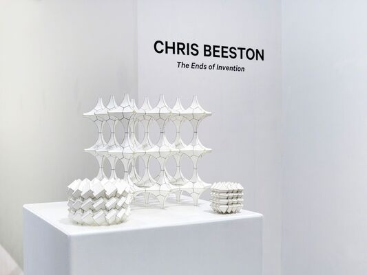 """""""The Ends of Invention"""" by Chris Beeston, installation view"""