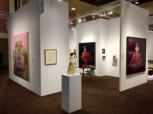 Nancy Hoffman Gallery at Art Palm Springs 2019, installation view