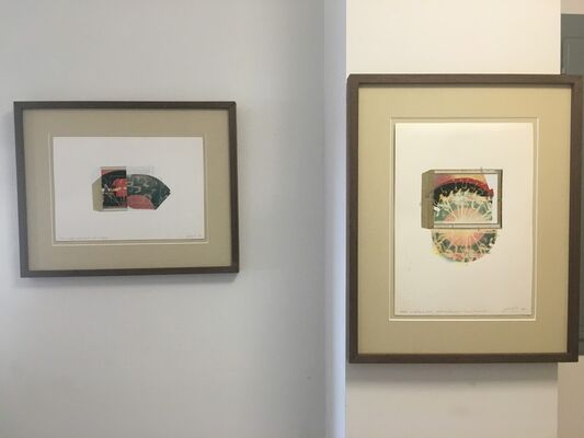 """""""Historical Series"""" photographs by Paolo Gioli, installation view"""