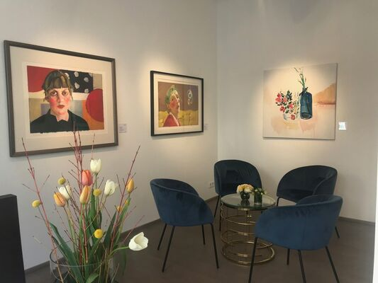 Spring News 2019, installation view