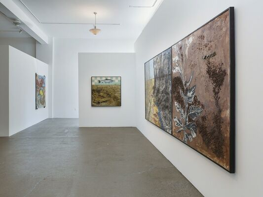 The City is Clean, installation view