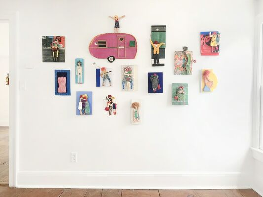Tommy Thomas: Constructions and Her Final Works, installation view
