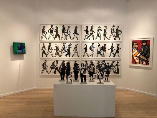 Julian Opie - Summer 2018, installation view
