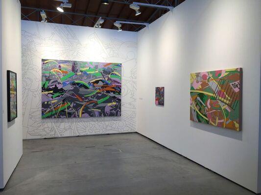 Galeria Senda at viennacontemporary 2016, installation view