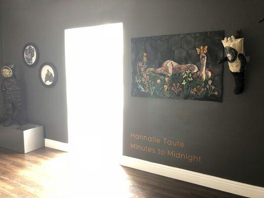Minutes to Midnight | Hannalie Taute, installation view
