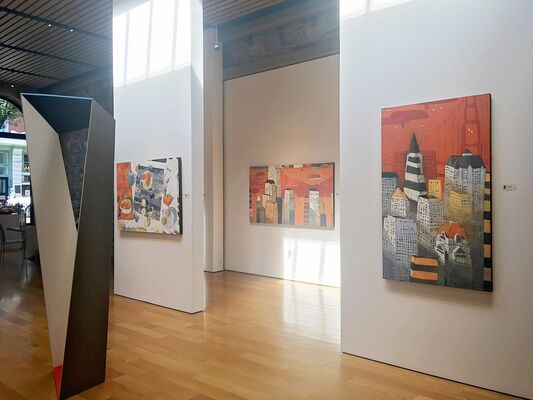 Paul Balmer | Recent Paintings, Artist Opening, installation view