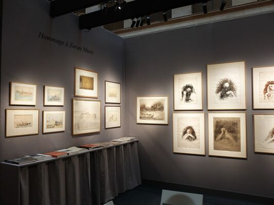 Ditesheim & Maffei Fine Art  at Salon Du Dessin, installation view