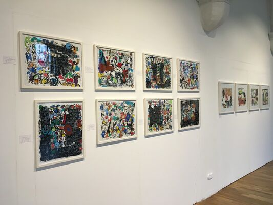 On Paper III, installation view
