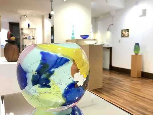A World Suspended in Color, installation view