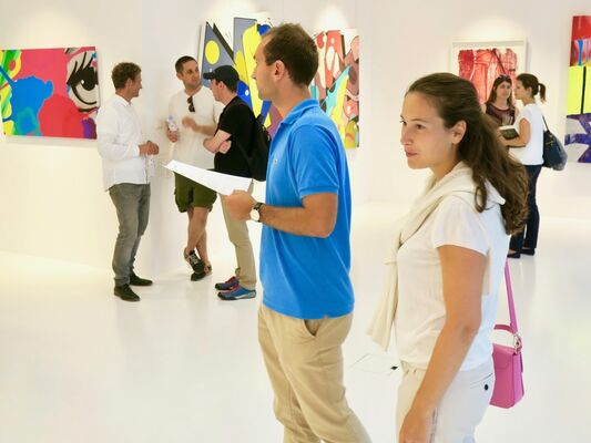From A Tag To An Artwork, installation view