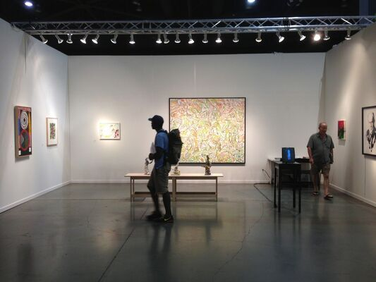 James Harris Gallery at Seattle Art Fair 2015, installation view