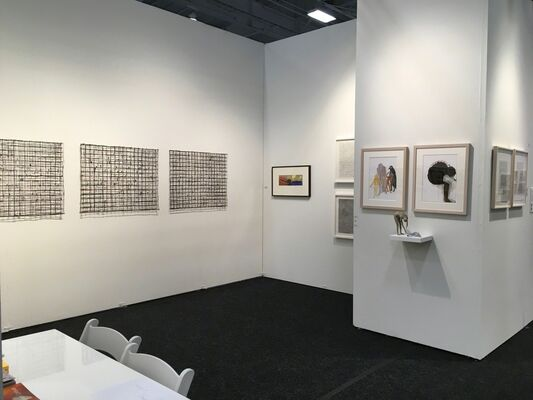 Gibbons & Nicholas at Art on Paper New York 2018, installation view