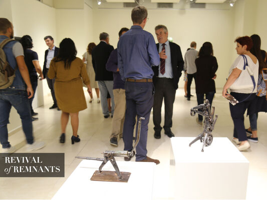 REVIVAL of REMNANTS, installation view