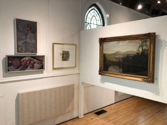 July Exhibit, installation view