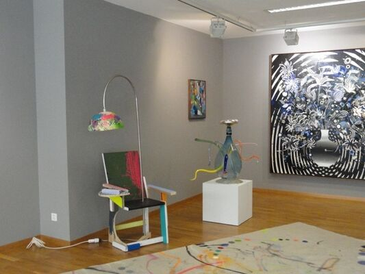 """LE SOLAN"" - CHRISTIAN ACHENBACH, installation view"