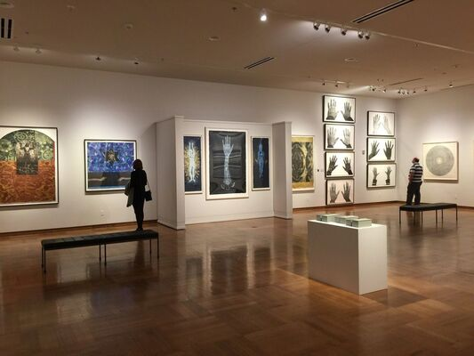 Wildwood Press at Seattle Art Fair 2016, installation view