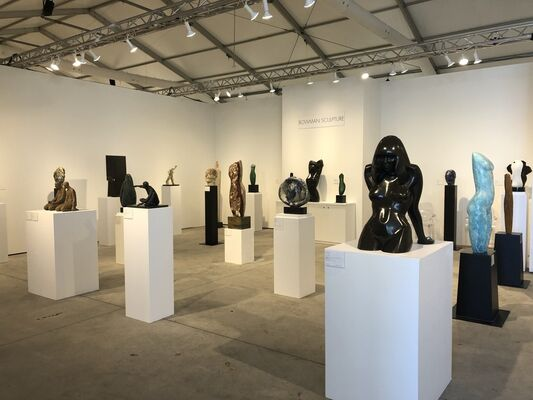 Bowman Sculpture at Art Miami 2019, installation view