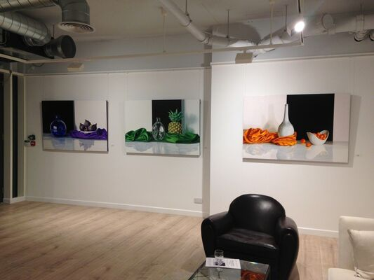 The Alchemy of the Everyday: Paintings by Elena Molinari, installation view