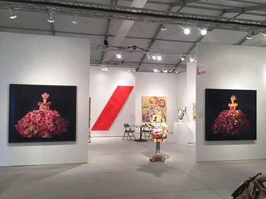 Nancy Hoffman Gallery at Art Miami 2018, installation view