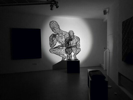 The Thinker - HIGHLIGHTS, installation view